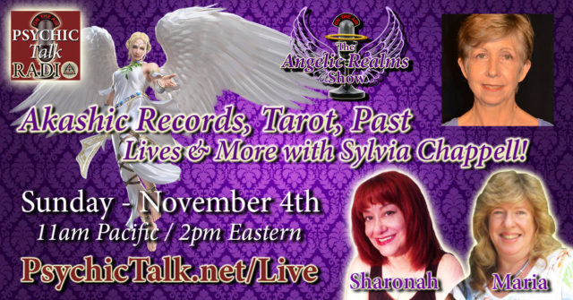 angelic realms radio sylvia chappell akashic records sun 11042018